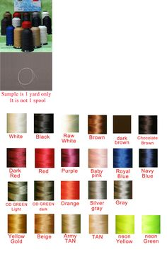 """#69 T-70 Beige Nylon Bonded Thread 4Oz Upholstery Leather Canvas /""""Made In USA/"""""""