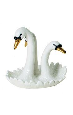 Swan Jewelry Holder