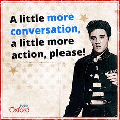 """""""Quanto mais conversação, melhor! Esse é o ritmo de ensino do Oxford, que permite que o aluno aprenda inglês da forma mais natural possível! Conheça os nossos cursos: www.cursooxford.com.br""""- post para falar sobre o método de ensino do curso."""