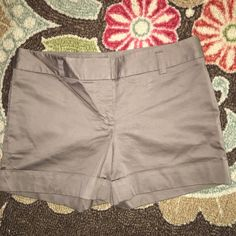 Express cuffed chino shorts. Express cuffed chino shorts. They're what I would call a light chocolate color. Approximately a 4 inch inseam? EUC Express Shorts