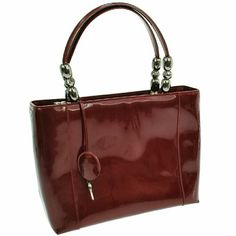 """Auth Vintage Hand Bag Bordeaux Patent BBG5201 """"It is 100% Authentic Item - Previously Owned but Good Condition,Please Check all the Photos!  Material:  Patent Leather, Color : Bordeaux ,some noticeable scratches and dirt  , There is a sense of overall use, there is a dirt   ,,,  No Trade."""" Dior Bags Satchels"""