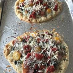 Naan Bread Margherita Pizza with Prosciutto - Allrecipes.com