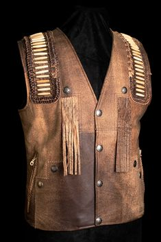 Have a look at our wide array of girls' jacket along with puffer vest, down shirt, quilted jacket. Mens Western Vest, Western Wear, Western Cowboy, Cowboy Hats, Fringe Leather Jacket, Biker Leather, Leather Coats, Poncho Outfit, The Lone Ranger