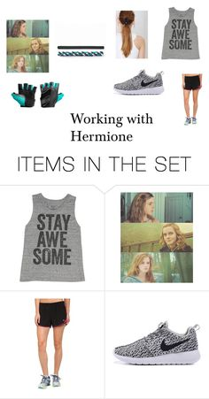 """""""Ashton- Working with Hermione"""" by nargles-r-4-real ❤ liked on Polyvore featuring art and AshtonWoodLives"""