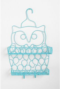 An owl shower caddy.  What more could a girl want?