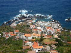 lava pool, Island of Madeira Portugual