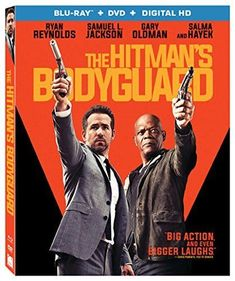 Lionsgate Home Entertainment has announced the home release Ultra HD/Blu-Ray/DVD/Digital HD) for The Hitman's Bodyguard! Elodie Yung, Action Movies, Hd Movies, Movie Tv, Movie Theater, Gary Oldman, Ryan Reynolds, Salma Hayek, Breaking Bad