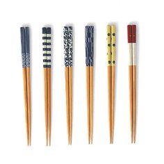 COVO (コーヴォ) / MilMil (ミルミル) Chopsticks 6膳セット