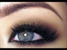 Kim Kardashian Inspired Make-up: Fall Smoky Eyes