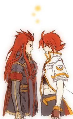 Asch and Luke from Tales of the Abyss