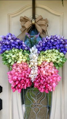 Butterfly wreath all season wreath wreath for front door   Etsy