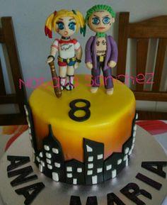 Tarta Harley Quinn y Joker