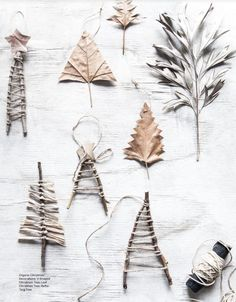 Easy, natural Christas decoration