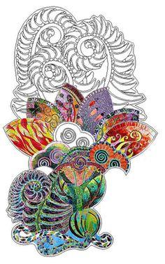 Unfurled - A Collaborative Mosaic