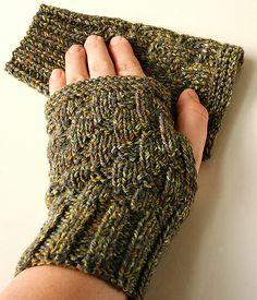 Toasty Textures Merino Wool Fingerless Gloves