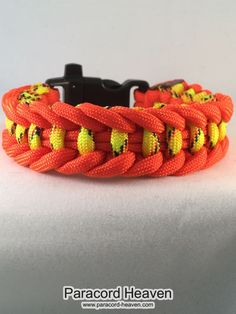 This is our brand new product just out: Fire Escape - Jag... Check it out right here! http://www.paracord-heaven.com/products/fire-escape-jagged-ladder-paracord-survival-bracelet-with-emergency-whistle