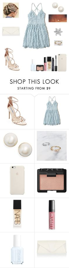 """""""The Best Memories- Graduation"""" by spacestars ❤ liked on Polyvore featuring Steve Madden, Hollister Co., Kate Spade, NARS Cosmetics, Essie, Accessorize and Graduation"""