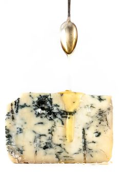 Blue Vein Cheese and Honey; serve with hearty bread or crackers If you have never tried blue cheese with honey, you have not lived!