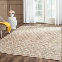Shop for Safavieh Handmade Cape Cod Frederica Coastal Jute Rug. Get free delivery On EVERYTHING* Overstock - Your Online Home Decor Store! Natural Fiber Rugs, Natural Area Rugs, Natural Rug, Oar Decor, Bunk Beds Built In, Young House Love, Geometric Rug, Online Home Decor Stores, Online Shopping