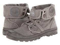 Palladium Pallabrouse Baggy Fold Over Hi Top Sneaker canvas titanium/high rise 7sh 1h sz7.5 85.00 2/16