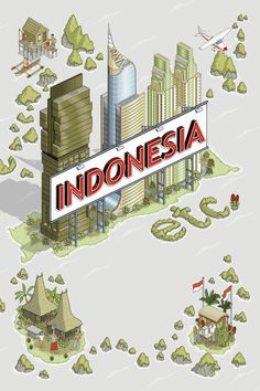 Indonesia Etc - book cover on Behance