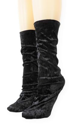 Black Crushed Velvet Socks is one of the comfortable socks to express your self unique and modern. Make a statement with these luxe velvet crew socks Product Details: Quality Velvet Polyester, Spandex Super Comfy and Absorbent Size US EU Item code Velvet Socks, Crushed Velvet, Crew Socks, Crushes, Comfy, Boots, Unique, Sleep, Spandex