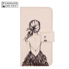"""LINGWUZHE Cute Patterned PU Leather Flip Case Mobile Phone Cover For Letv Coolpad Cool1 LeEco 5.5""""-in Flip Cases from Cellphones & Telecommunications on Aliexpress.com   Alibaba Group"""