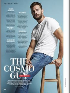 New interview of Jamie on Cosmopolitan US (February 2017)