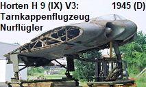 Horten H IX V3: Das erste Tarnkappenflugzeug als Nurflügler (auch Horten Ho 229 oder Gotha Go 229 genannt) Horten Ho 229, Outdoor Decor, Fighter Jets, World War Two, Gotha, Pilots, Aviation