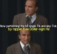 Glee-Principal Figgins trying to pronounce Ke$ha :D