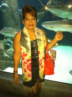 What a great experience in a huge aquarium in Dallas Texas