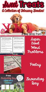 Sweet Treats: Groundhog Day, Super Bowl and Poetry Treats by The Primary Peach