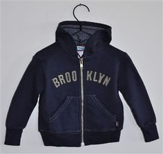 Brooklyn baby hoodie. By far my favorite article of clothing for my babies.