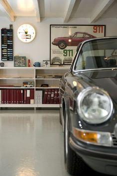 Le Porsche Garage... #porsche