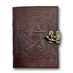 Pentacle Book of Shadows from The Moonlight Shop - 1