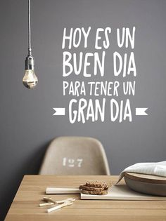 autoadhesivo blanco - Buscar con Google Bible Verses Quotes, Wise Quotes, You And Me Quotes, Good Week, Vintage Room, Co Working, Office Walls, Coffee Quotes, Office Interiors