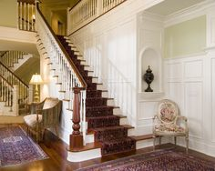 Traditional Staircase Design, Pictures, Remodel, Decor and Ideas - page 20