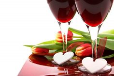 7 Unique Valentine's Day Date Ideas Valentine's Day Drinks, Valentines Day Wine, Valentine Cards, Day Date Ideas, Orange Tea, Blood Orange, Anniversary Flowers, Wedding Anniversary, Bath