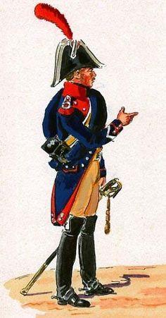 Gendarme a Caballo. Brigadier