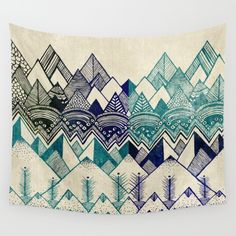Two+Worlds+Wall+Tapestry+by+Rskinner1122+-+$39.00