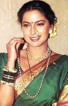 @IndiaMarks ~ Indian Nose Rings - Adorning Nose with beautiful Jewels & Rings