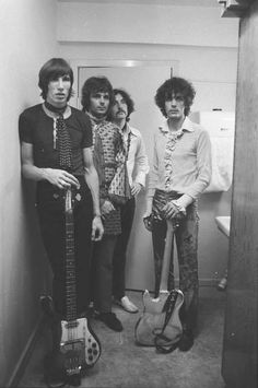 Pink Floyd in Aarhus,Denmark 1967 (Roger Waters, Rick Wright, Nick Mason, and Syd Barrett) David Gilmour, Aarhus, Psychedelic Bands, Richard Wright, Roger Waters, We Will Rock You, My Sun And Stars, Progressive Rock, Divas