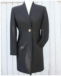 Michel Desjardins coat (M) | Mlle Frivole Michel, Blazer, Boutique, Coat, Jackets, Women, Fashion, Wool, Down Jackets