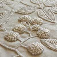 Gorgeous texture #Embroidery Poppy Loves Pinterest