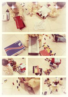 Juego heurístico en el primer ciclo de educación infantil Reggio Emilia, Gift Wrapping, Gifts, Dinosaur Eggs, Crib, Games, Gift Wrapping Paper, Presents, Wrapping Gifts