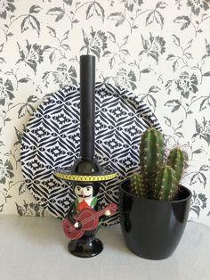 hübsche Dekoration im Mexiko-Style #meesundmees #decoration #dekoration #kaktus #blackwhite #schwarzweiß #decoinspo