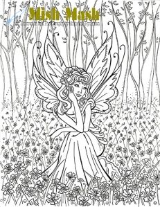 FUN fairy colouring pages!!!