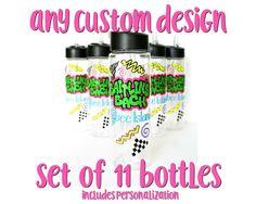 11 Custom Water Bottles Bachelorette Party Favors