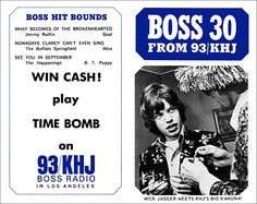 Boss Jocks…a weekly Boss 30 playlist distributed everywhere…plus non-stop temptations (such as the Boss Garage, a contest to win a new car of your choice) to never miss a minute of Boss Radio: That momentum addicted us all to The Big 93. - http://www.brucesallan.com/2013/03/02/the-evolution-of-technology-am-radio-top-40-lists/