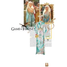 Game of Thrones: Daenerys Inspired Fashion